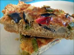 cuisiner une quiche quiche aux légumes sur fond de flocons de quinoa tartes sans fromage