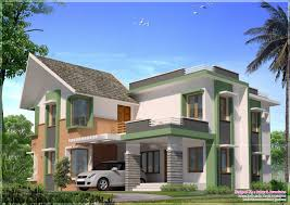 House Models And Plans Kerala House Model Exterior Design At 2860 Sq Ft