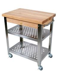 furniture beneficial butcher block table for modern kitchen