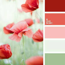 Pink Color Scheme Bright Red Color Palette Green And Red Light Green Pale Green