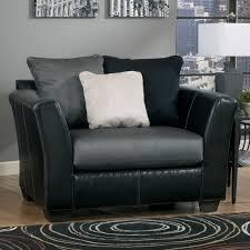 Black Chair And A Half Design Ideas Furniture Black Leather Chair And A Half Recliner With Cozy Wood