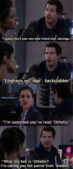 Brooklyn Nine Nine Meme - don t know if anyone here watches brooklyn nine nine but it s a