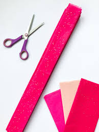 how to make a pom pom tissue heart backdrop u2013 paperchase journal