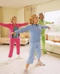 Armchair Yoga For Seniors Seniors Doing Dumbell Exercises Fitness Fun Pinterest