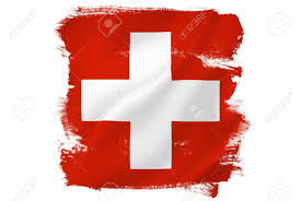 Flag And Cross Swiss Cross Red Flag Stock Photo Picture And Royalty Free Image