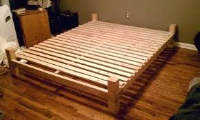 Make Your Own Platform Bed Frame Build Your Own Bed Thecolumbia Club