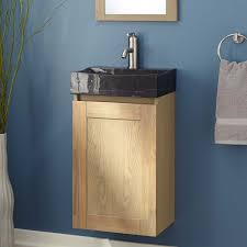 Half Wood Wall by Bathroom Hudson Reed Quartet Black Wood Wall Hung Vanity Unit