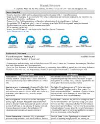 how to build an unbeatable salesforce resume u2013 succeed with salesforce