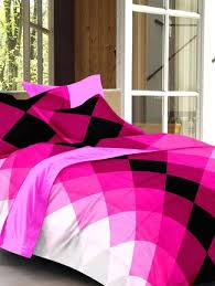 Cotton Bed Linen Sets - buy story home pink 100 cotton bed sheet set online