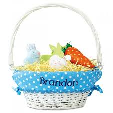 personalized easter basket liner personalized easter basket with liners current catalog
