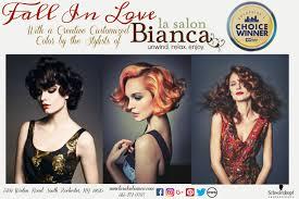 monthly newsletter la salon bianca la salon bianca rochester ny