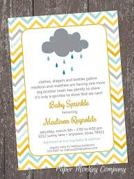 what is a sprinkle shower chevron baby sprinkle clouds sprinkle baby shower