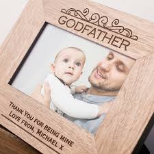 engraved wooden picture frame godfather gettingpersonal co uk