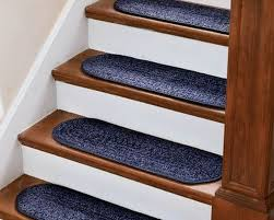 interior foxy image of oak wood staircase tread covers stair