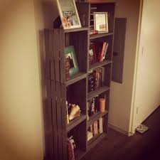 Small Rustic Bookcase Taylor Made Guest Post Diy Rustic Crate Bookcase