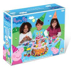 peppa pig birthday cakes peppa pig pepp003 kids children birthday cake dough