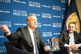 msnbc lawrence o donnell desks book rap o donnell talks politics then and now national press club