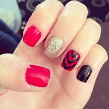 cute red nails how you can do it at home pictures designs cute