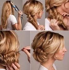 Hochsteckfrisurenen Mittellange Haare Zum Selber Machen by Hochsteckfrisur Für Mittellange Haare Mit Dfashion Maybeperfect