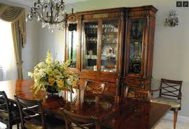 Dining Room Sets With China Cabinet Antique Mahogany China Cabinet And Bookcase