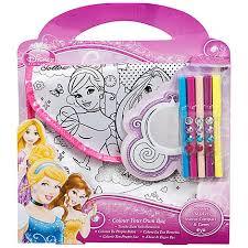 disney princess colour bag debenhams