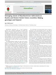 Russia And The Former Soviet by Emerging Clones Of Mycobacterium Tuberculosis In Russia And Former