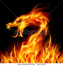royalty free raster version abstract fiery dragon u2026 84656284