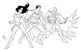 coloring pages cool justice league coloring pages batman justice