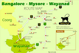 Banglore Metro Route Map by Train Bus Tips For Mysore Travel Mysore To Wayanad