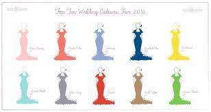colour of 2016 top wedding colours of 2016 b g blog weddbook