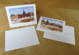 strathmore writing paper christmas paintings ready for art cards elissa anthony these christmas art cards are printed on strathmore writing card stock with deckle edges on both cards and envelopes