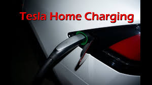 tesla model x charging at home youtube