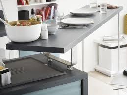 table coulissante cuisine plan de travail avec table coulissante 1 installation dun coin