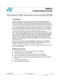 how to program stm8l flash program memory and data eeprom2472 thumbnail 4 jpg cb u003d1271314261