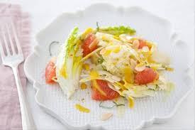 cuisiner des fenouils recette de salade de fenouil et plemousse à la menthe facile et