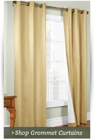 3 Panel Window Curtains Rod Pocket Curtains Thecurtainshop Com