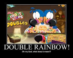 Double Rainbow Meme - fruit loop memes best fruit 2017