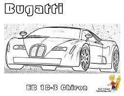 kids car printable bugatti chiron at yescoloring http www