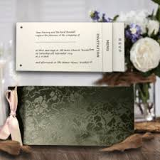 Plain Wedding Invitations Cheque Book Wedding Invitations Cheque Book Style Wedding Invites