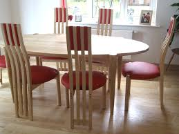 Red Kitchen Table And Chairs Ash And Red Leather Dining Table