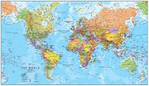 India On World Map Picture Of Diagram World Map Poster Large India And