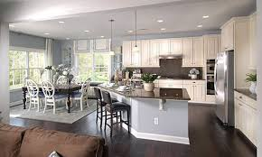 open floor plan house plans vanity kitchen dining room design layout open floor plan and