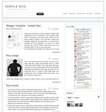 best 5 blogger simple seo template free download