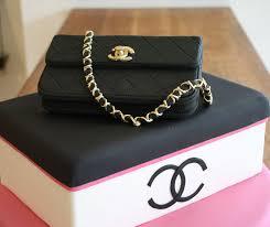 cake purse chanel designer handbag bag purse custom pastry cakes for
