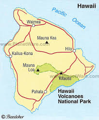 map kona usa hawaii volcanoes national park maps legends