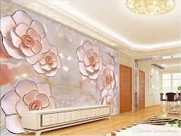 photo any size jade carved rose background wall mural 3d wallpaper see larger image
