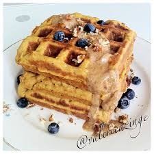 ripped recipes high protein sweet potato waffles