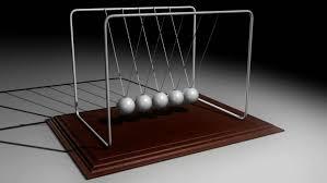 Executive Desk Toy Newton U0027s Cradle Desk Toy Pendulum Stock Footage Video 16545076