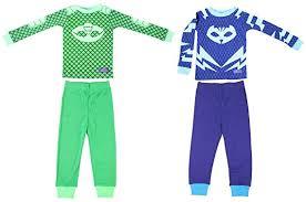 disney pj masks toddler gekko catboy 2 cotton sleepwear