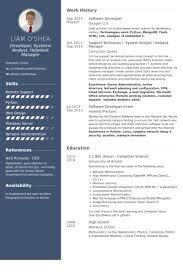 software developer resume template database developer resume template resume builder